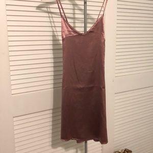 LF silk dress